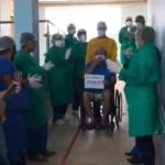 Hospital de Campanha de Caxias recupera pacientes da Covid-19